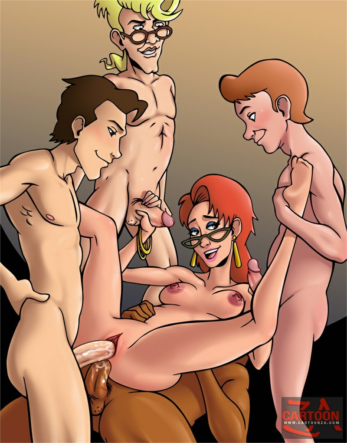 Www cartoon sex com