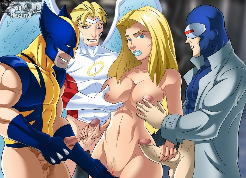 X men cartoons sex
