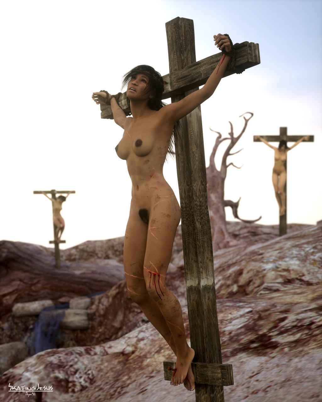 Wearing crucifix porn videos