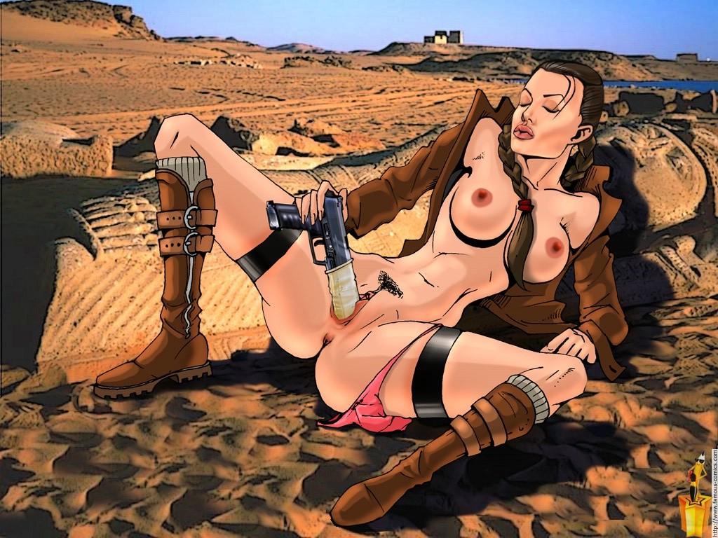 Порно секс фото лары крофт