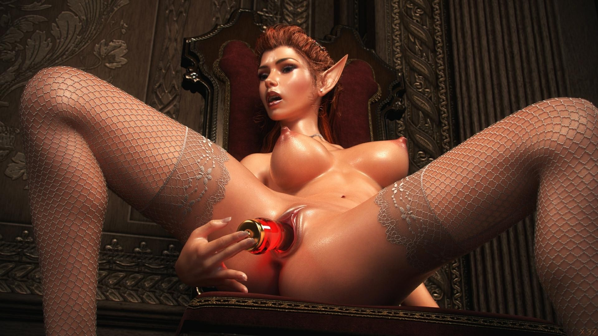 Female sex fantasy outfit