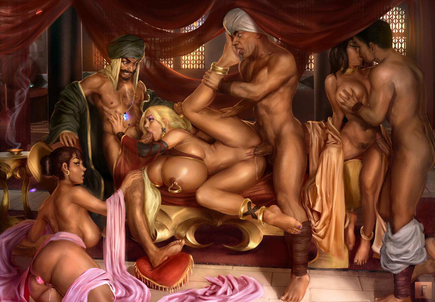 Artist porn collection