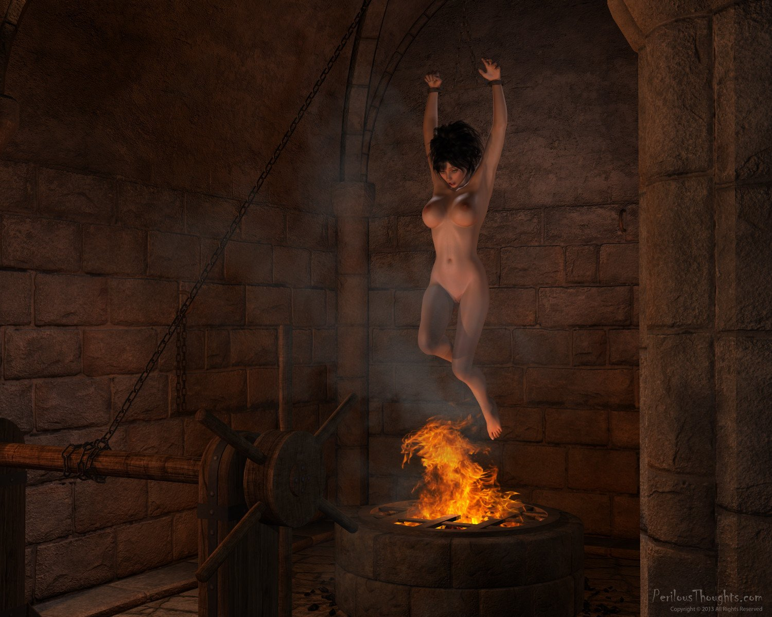 Tortured witch 1 of 7 - 2 part 9