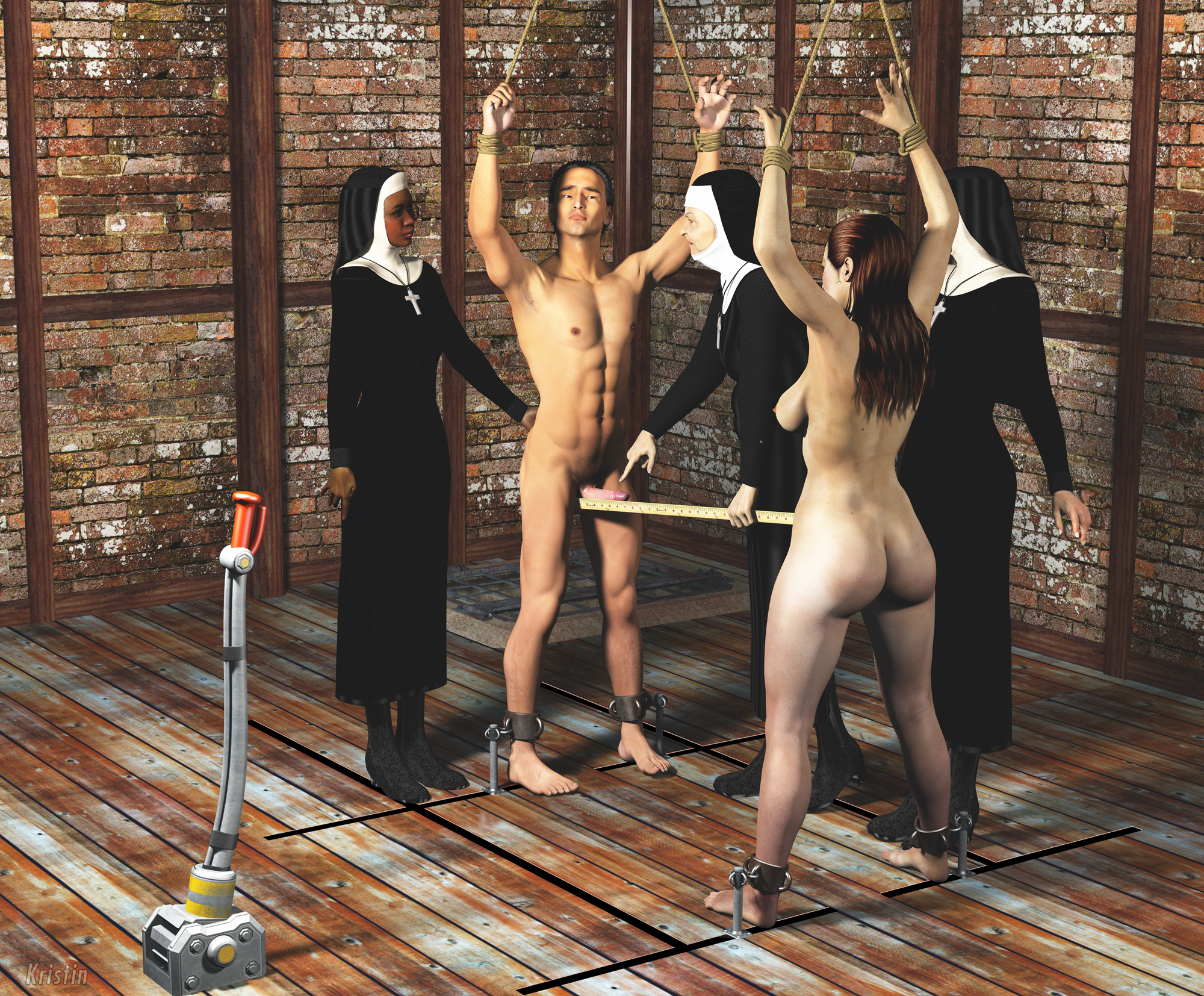Femdom slave auction