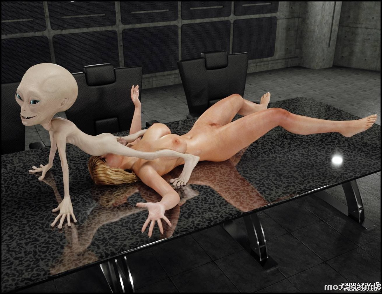 An alien creatures have porn with human woman free porn