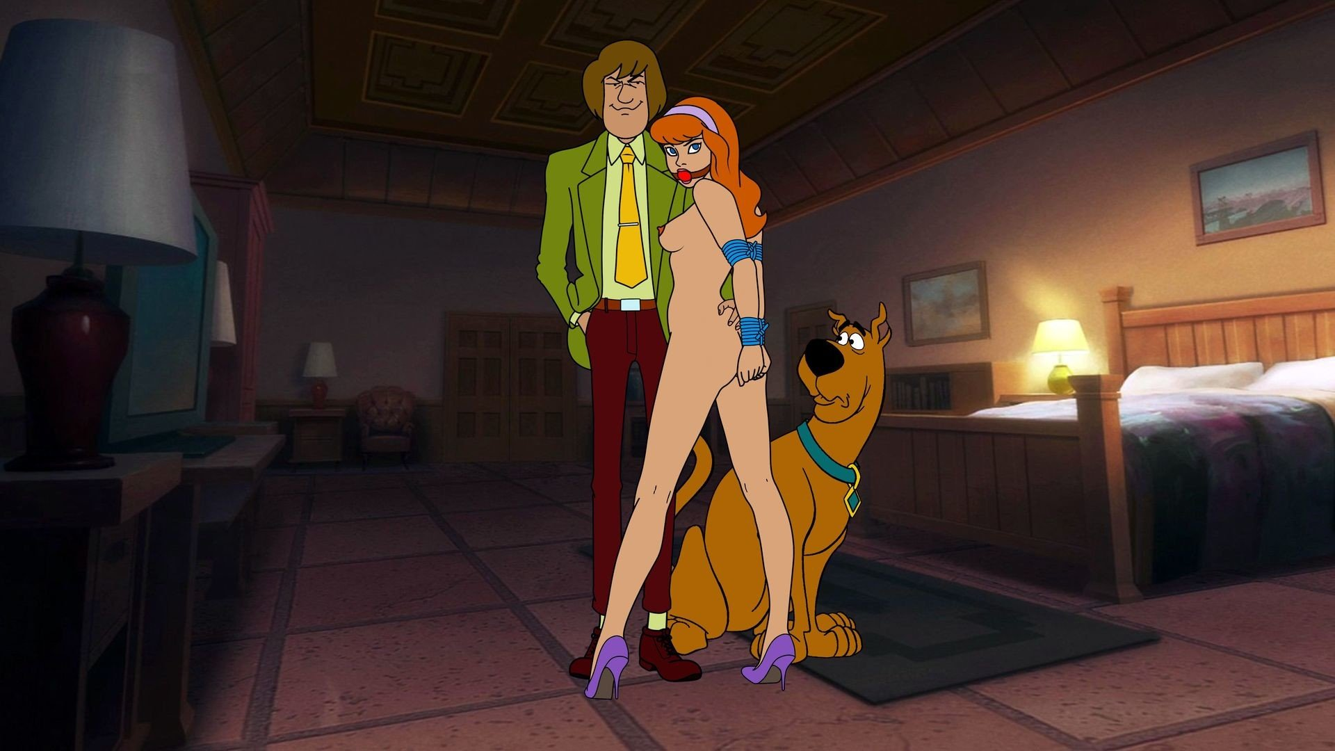Naked girls in scooby doo #8