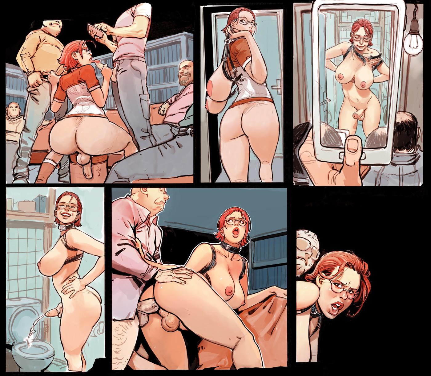 Hardcore porn cartoon