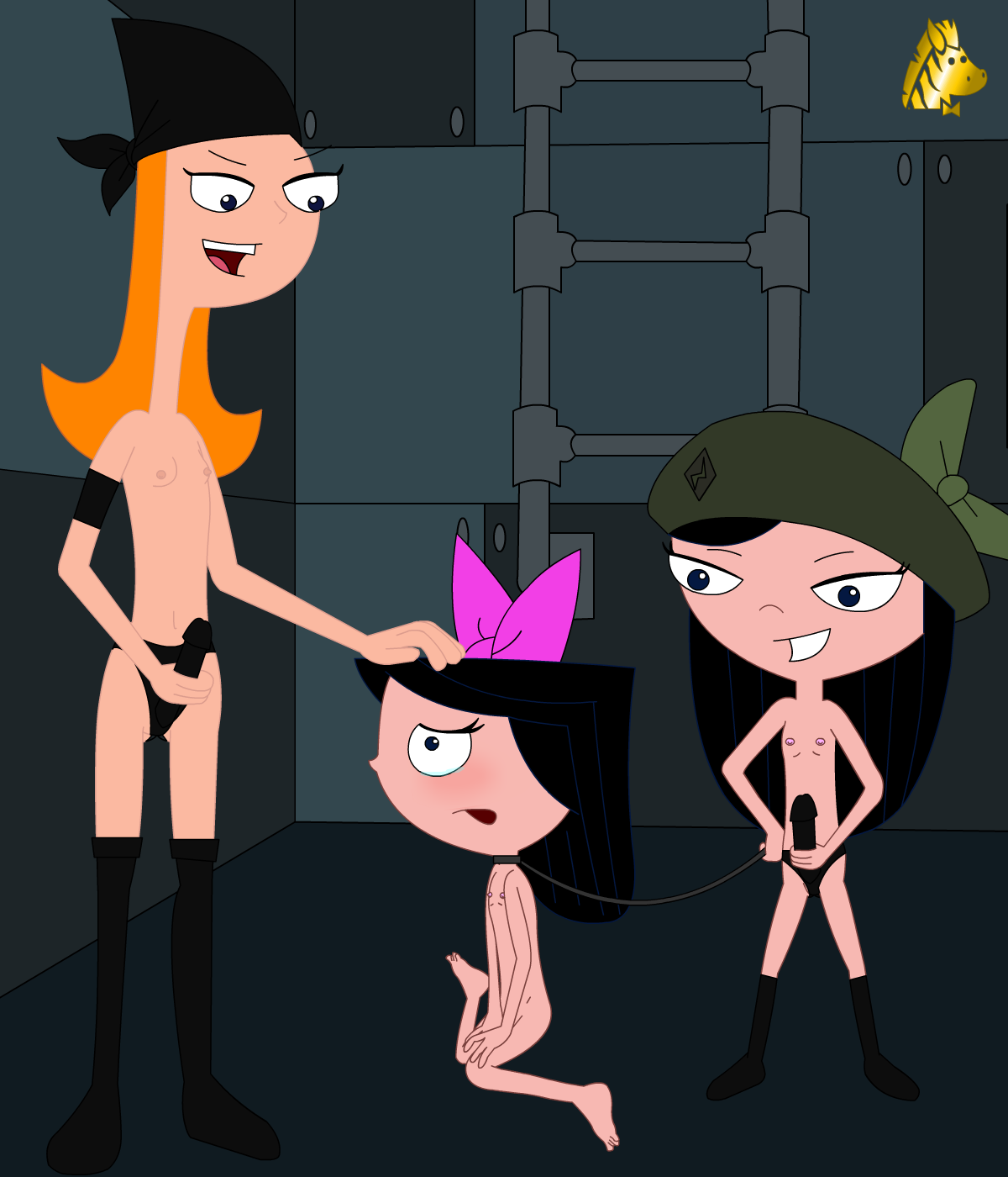 Naked phineas and ferb porn isabella — photo 8