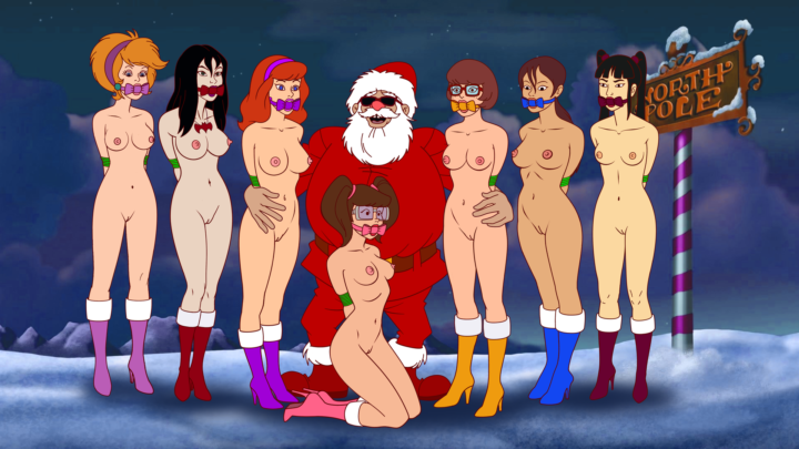 Christmas anal with santa - 1 part 9