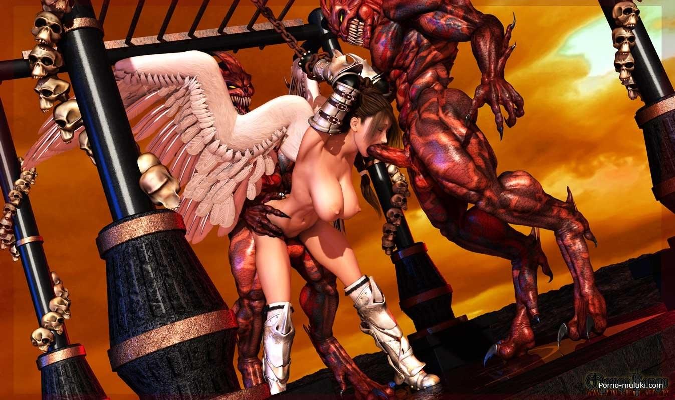 Горловой миньет ангел секс