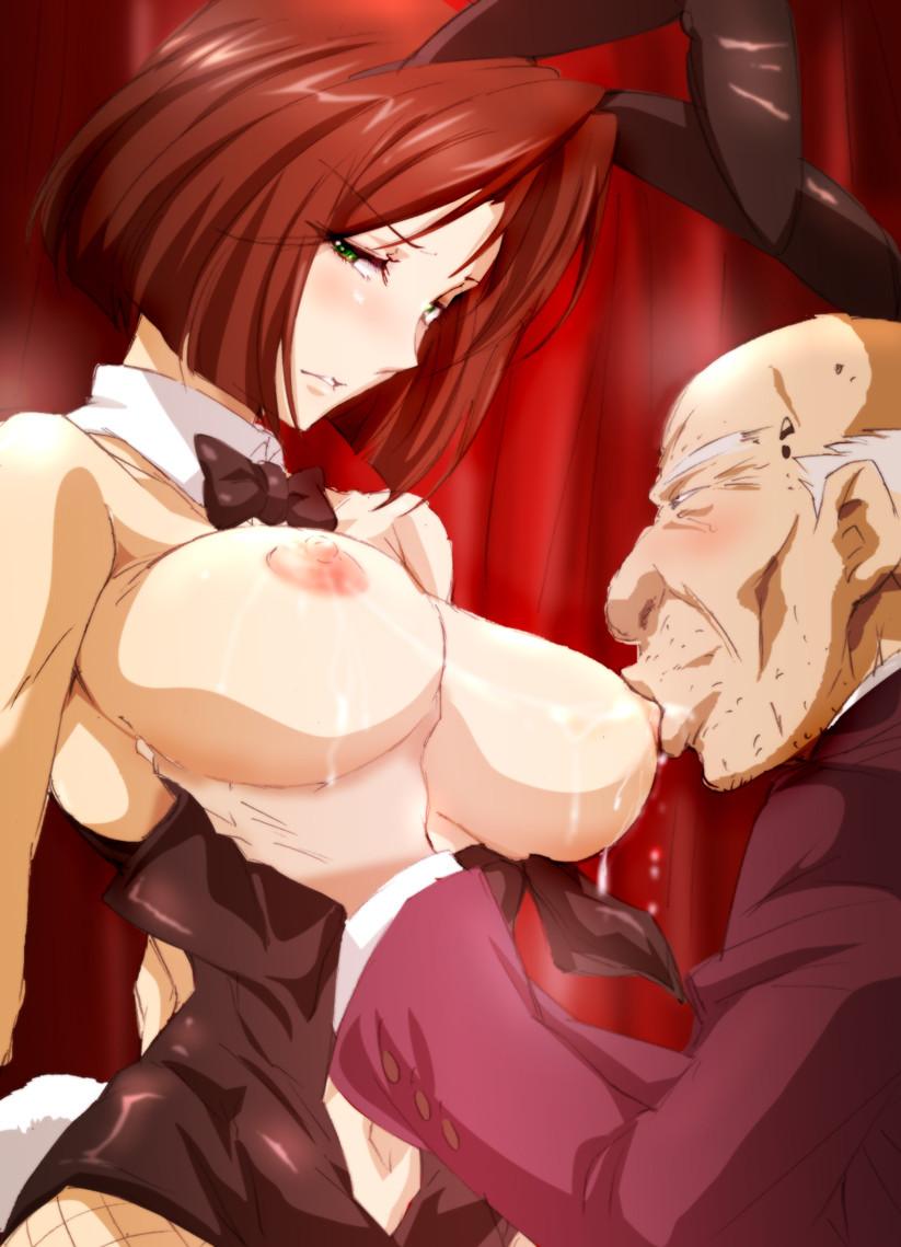 hentai sucking tits