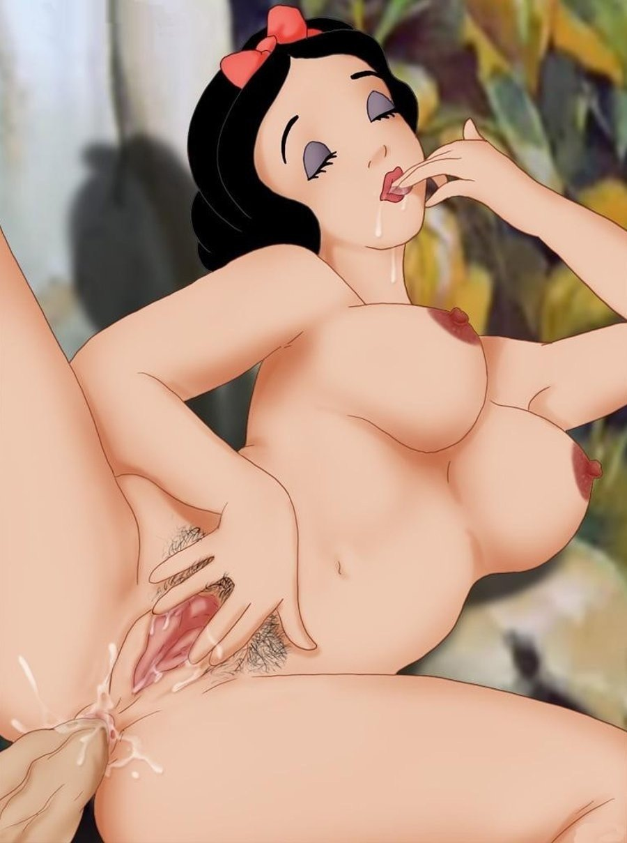 Snow white cartoon porn