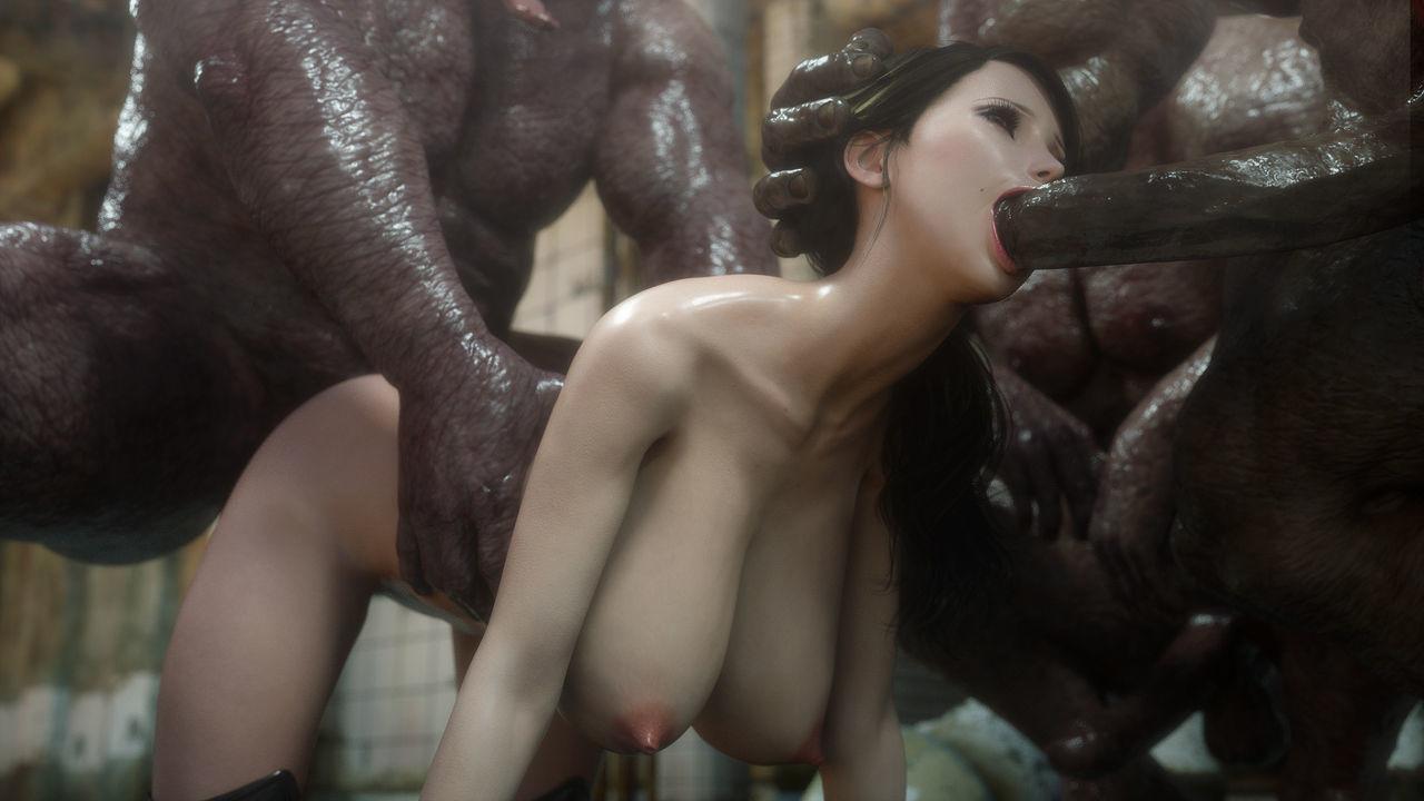 Красивых мутанты девушак ебут