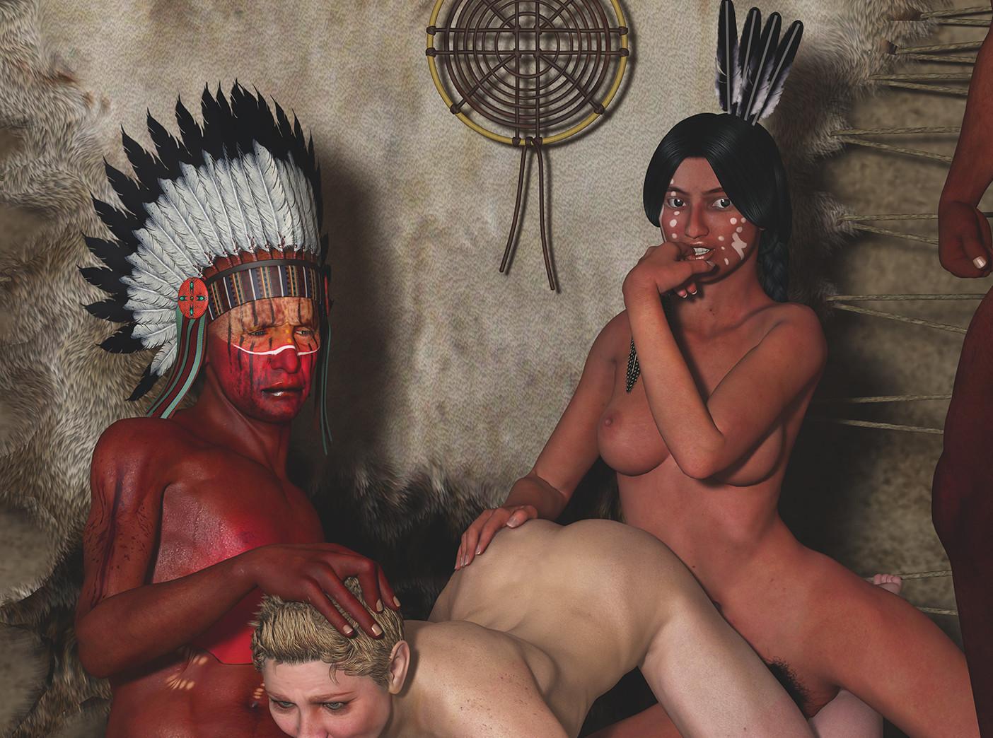 государство, порно с индейскими племенами видео шапке