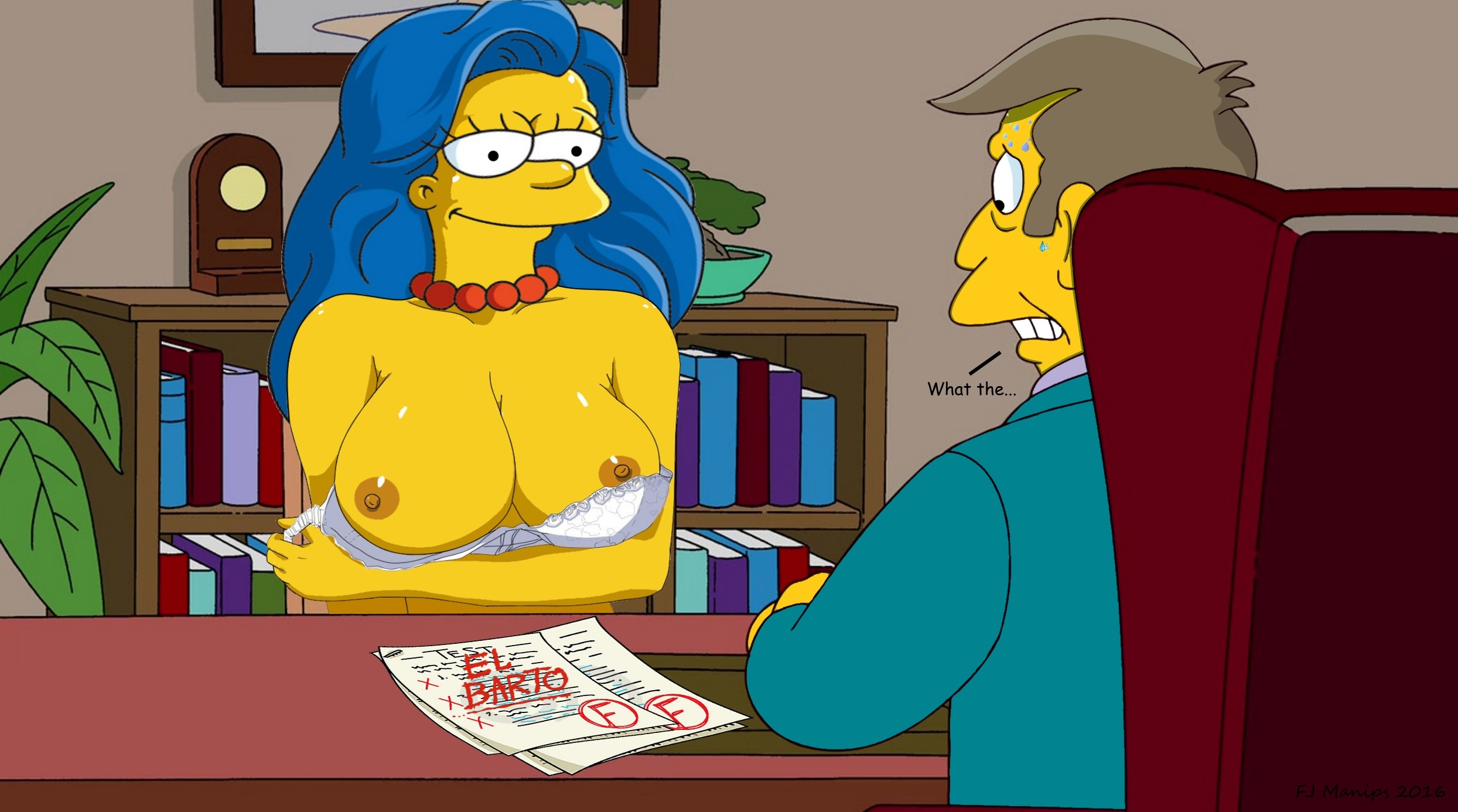 The Simpsons Nude Porn Galery