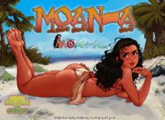 Moana comic