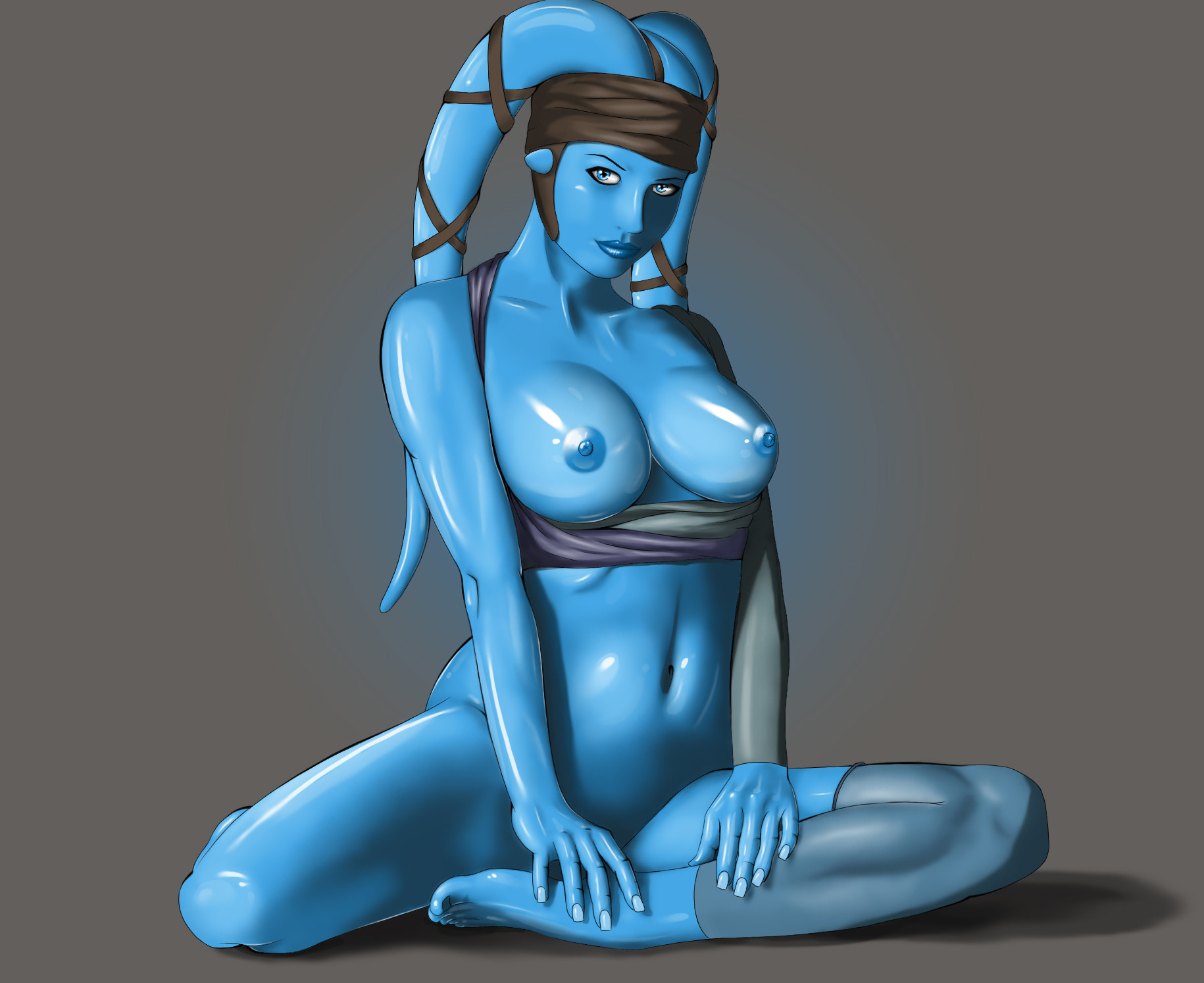 Star wars aayla secura nude sheer vitality