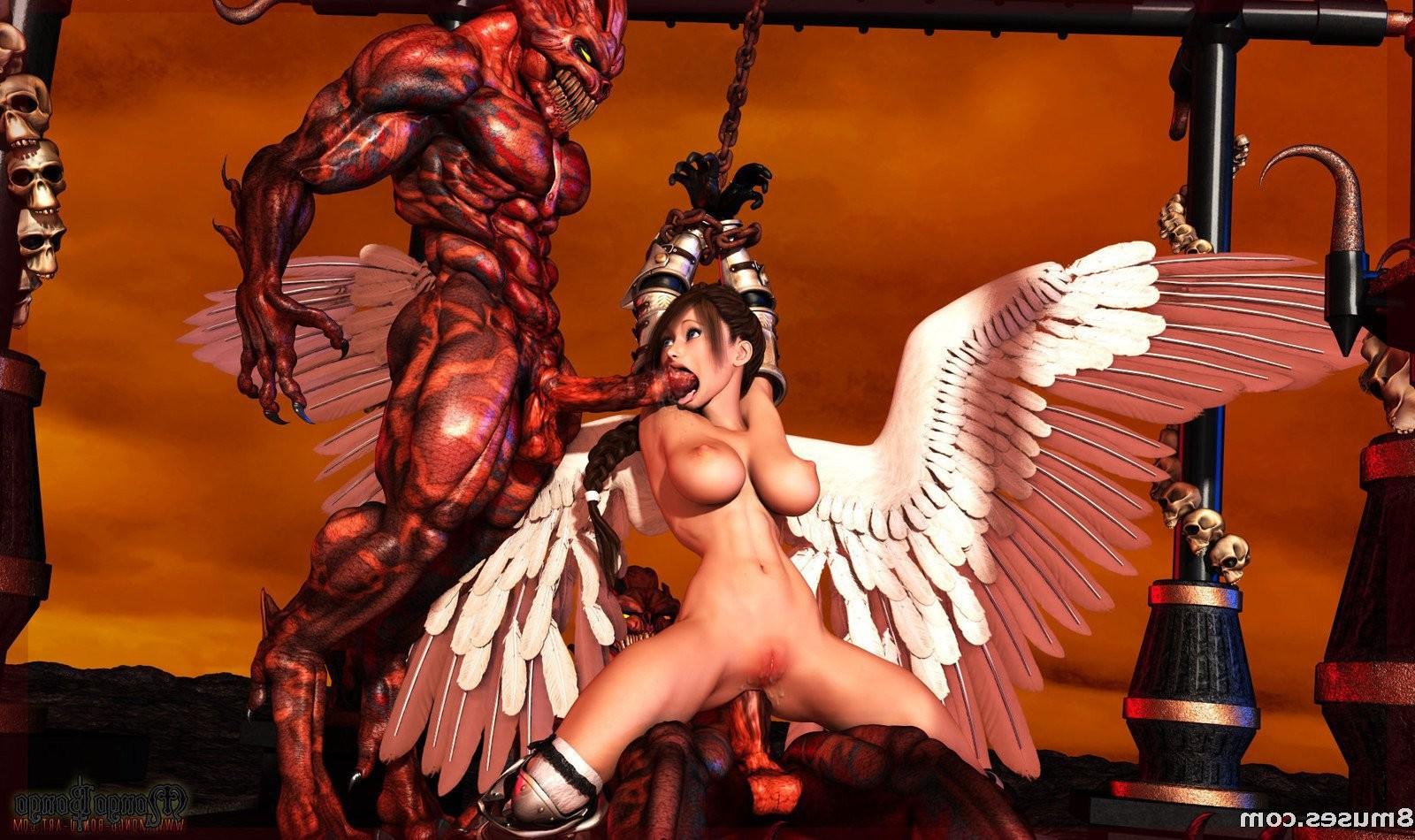 Sexy devil virgin mary