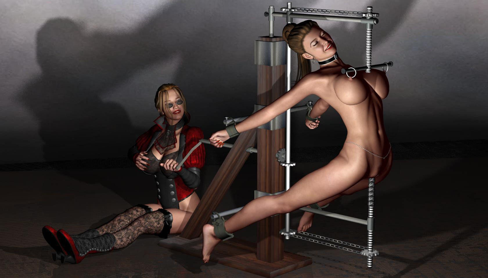 Female submissive bdsm art