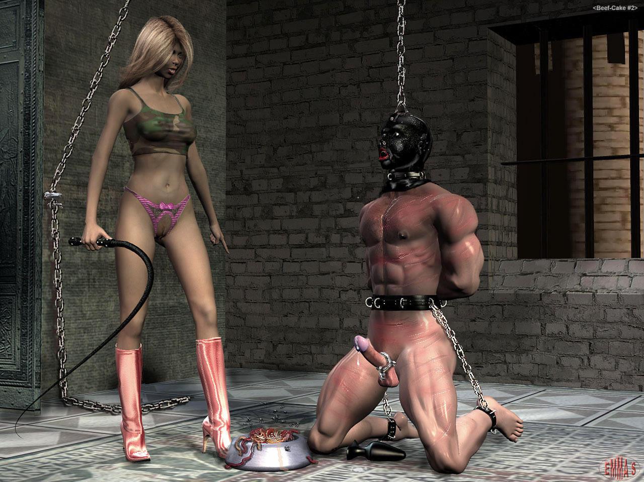 Femdom Torture And Brutal Genitals Abusing By A Cruel Mistress Amira
