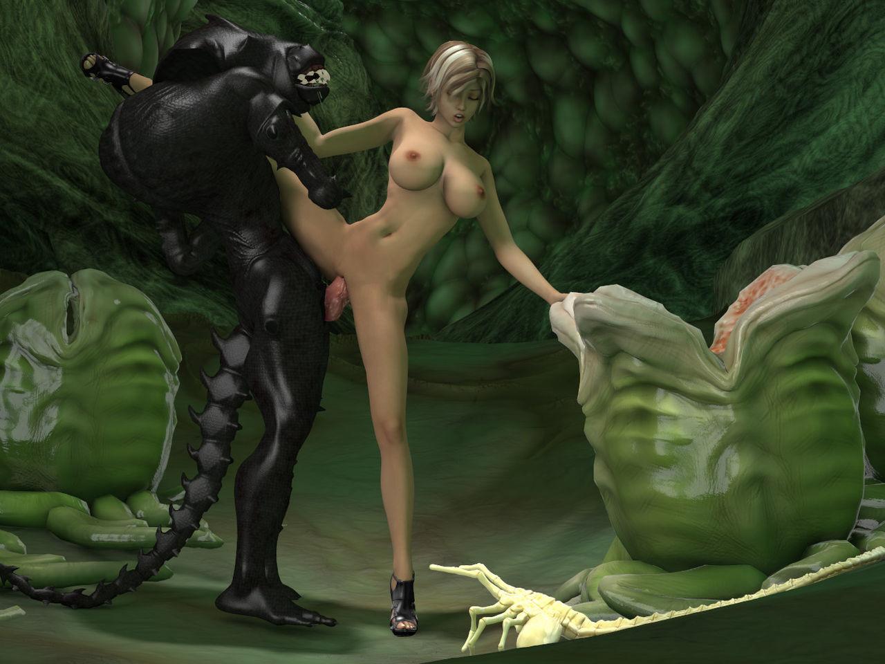 Эротика с чудовищами фото, Монстры Хентай Рисунки Порно комиксы рисунки арт 27 фотография