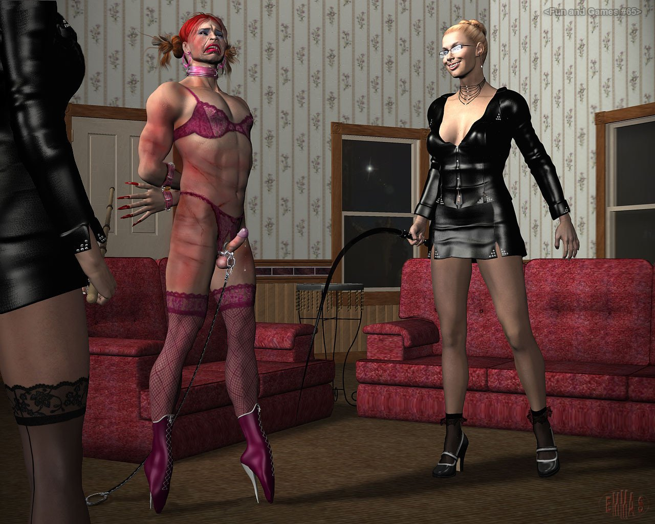 sex-women-restraint-femdom-feminized-stairs-and-given