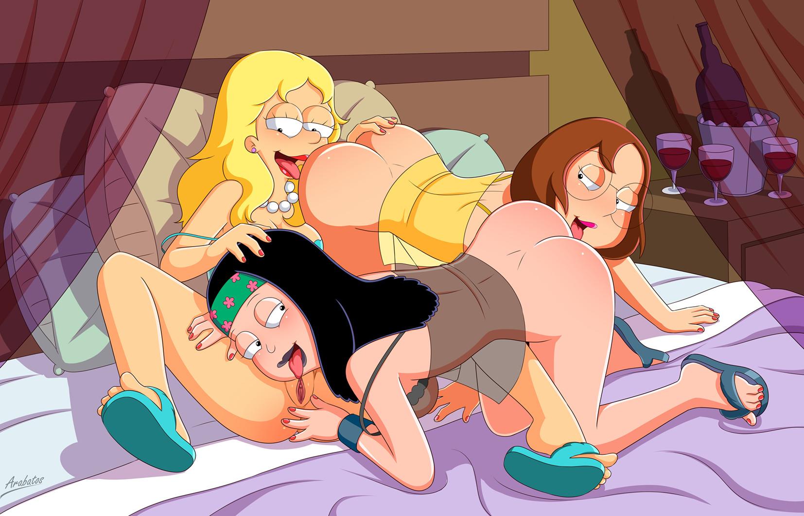 Lesbian Cartoon Porn Pictures
