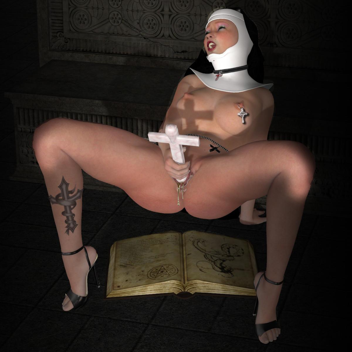 Порнофото-монахинь