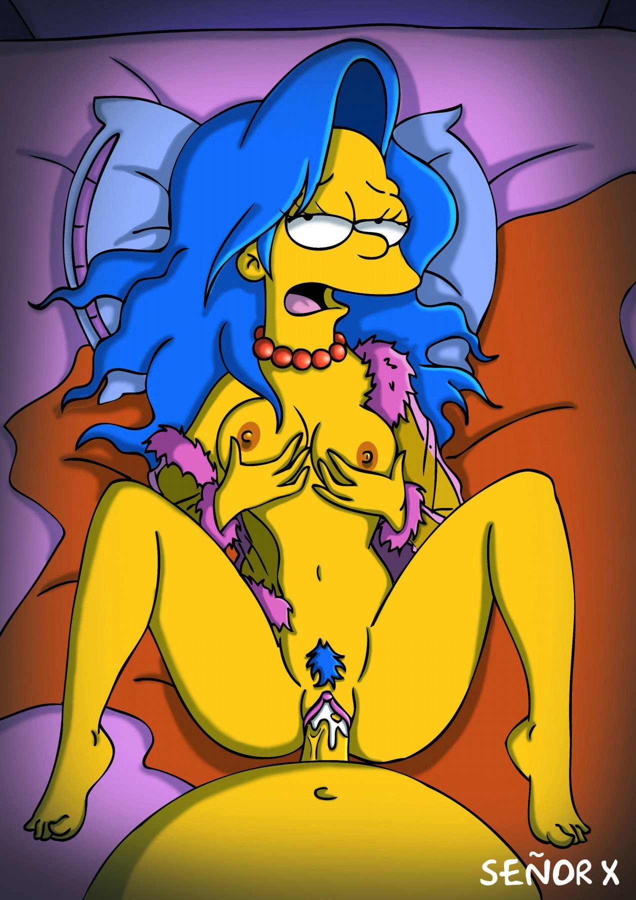 Hentai Marge Simpson