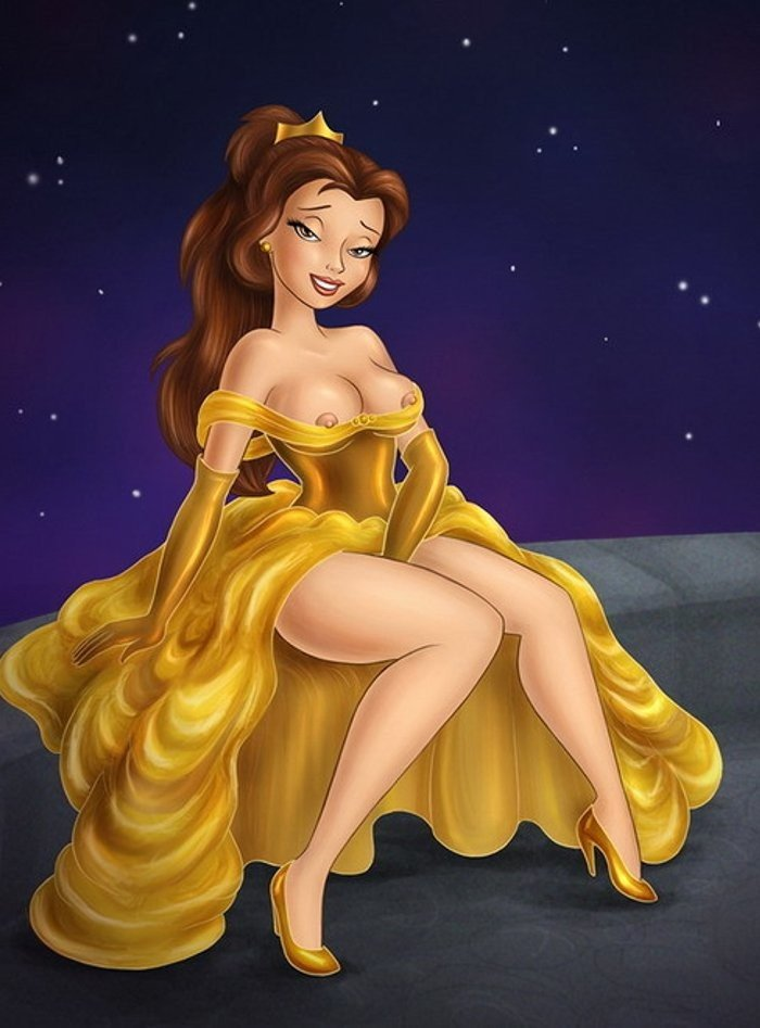 Cartoons disney naked