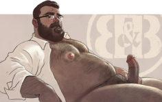 cartoon hombres osos