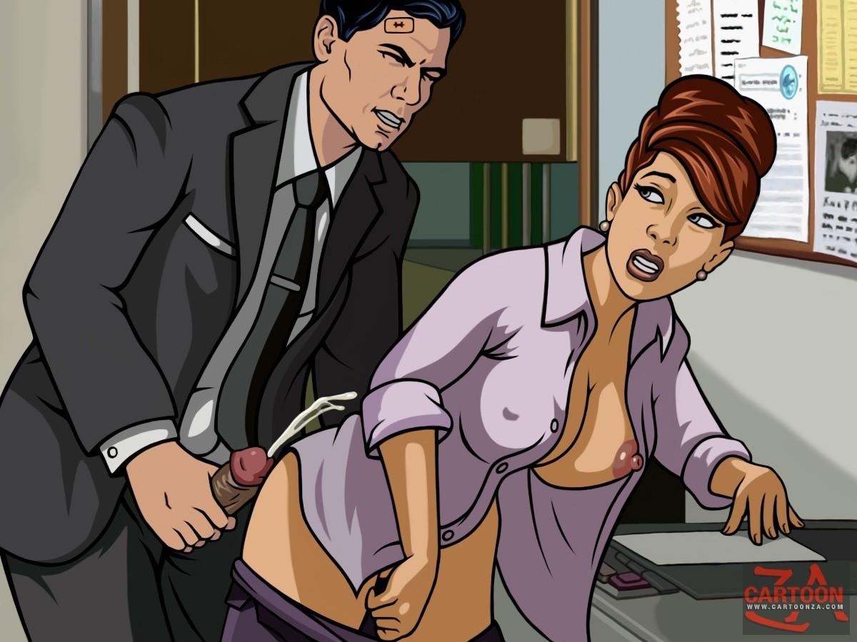 Archer porn comic