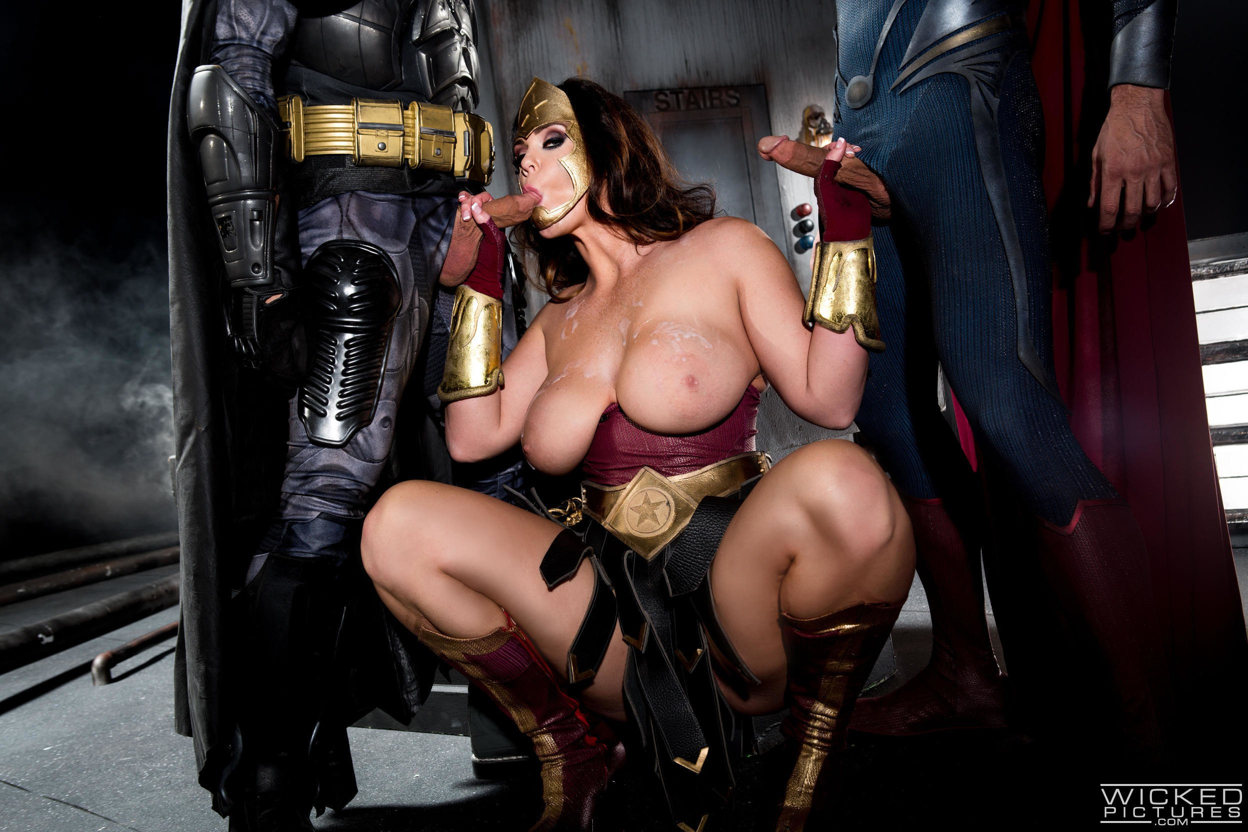 Naked superheroes girls only