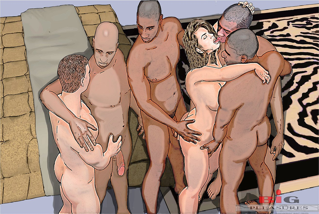 Reluctant wife interracial gangbang stories