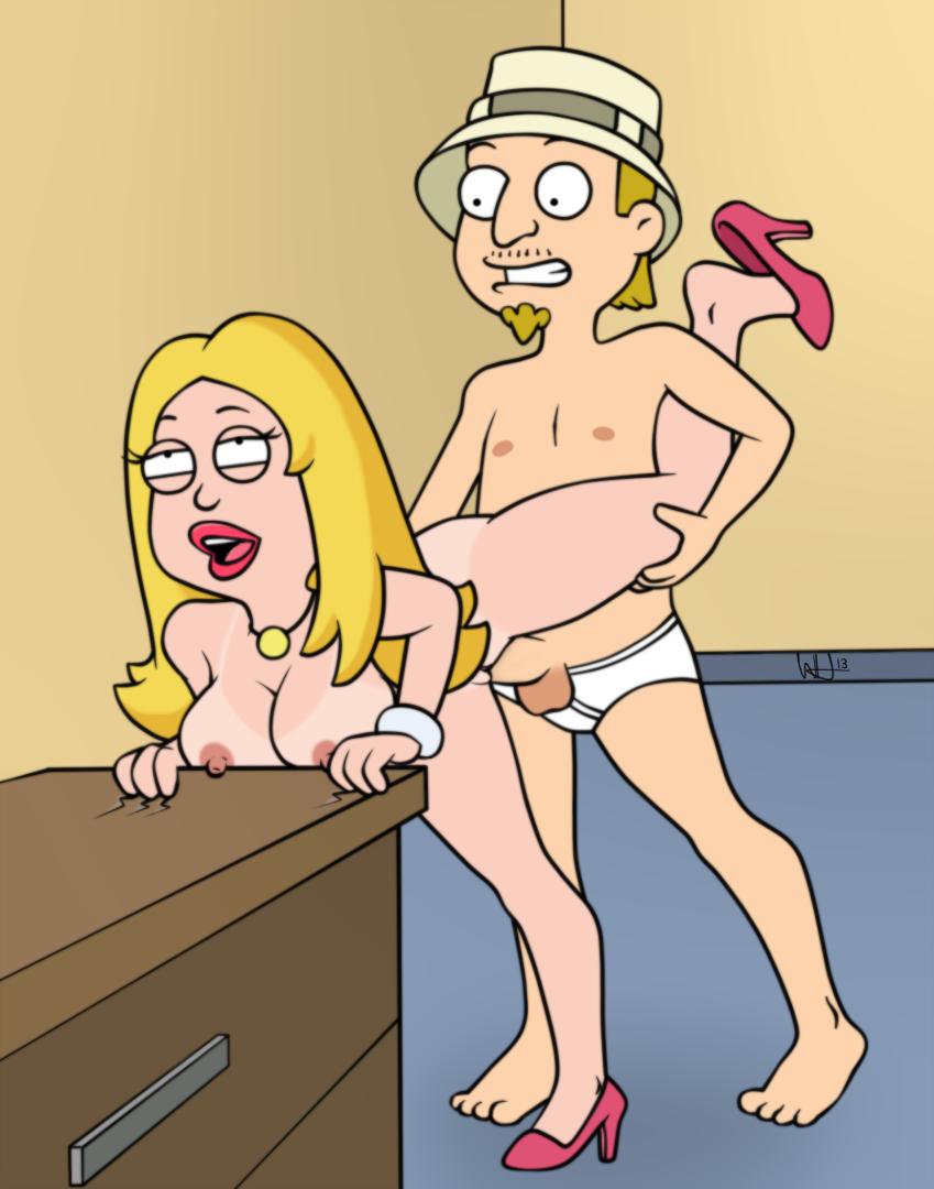 Steve Fucks Haley American Dad Francine Stan Fucks Cartoon Free Sex Pics