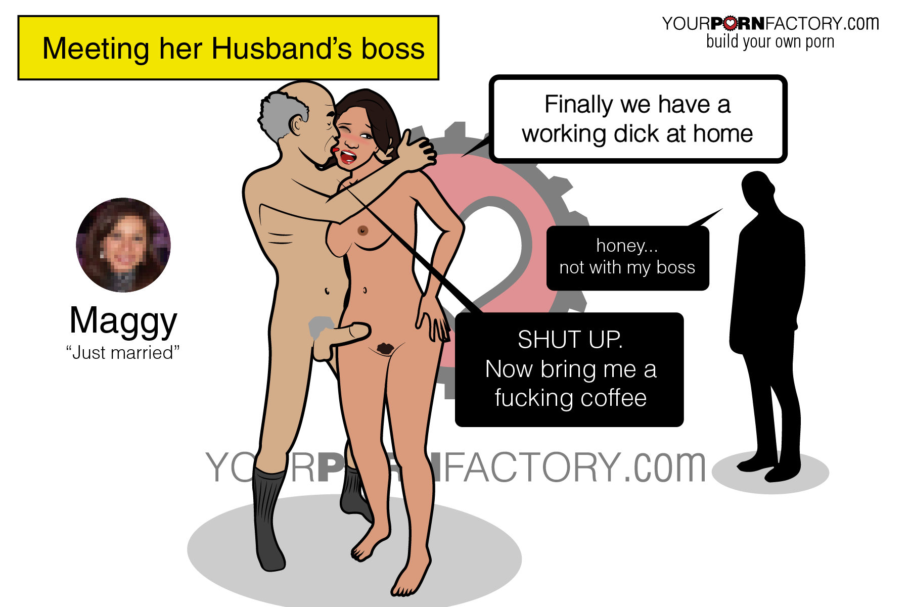 Why does your WIFE likes her job so much? cheating with her boss