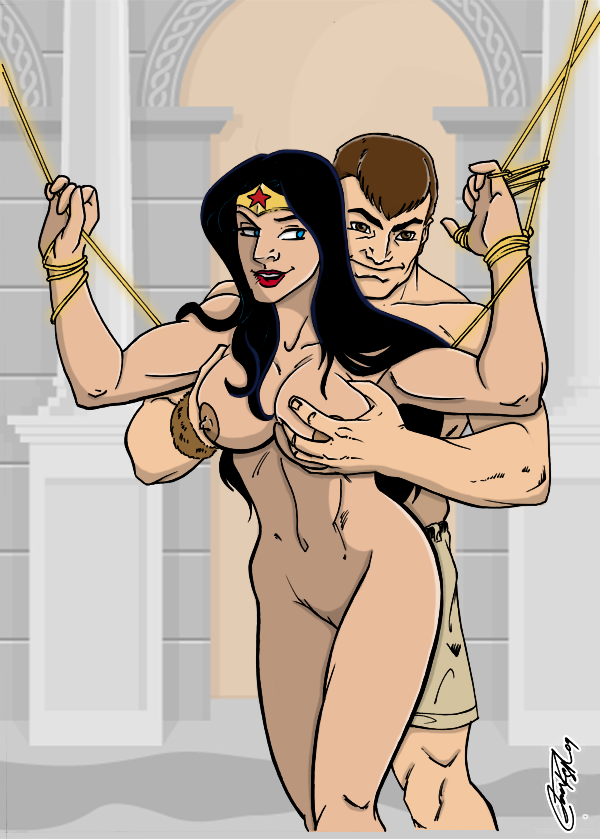 Nude wonder woman animated — 1