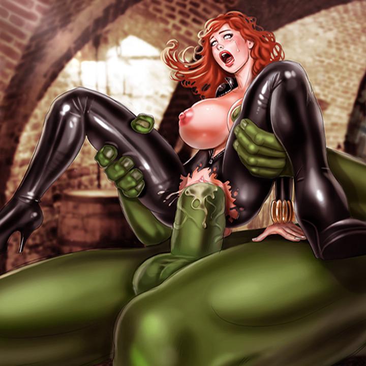 Мстителей комикс еблля порно