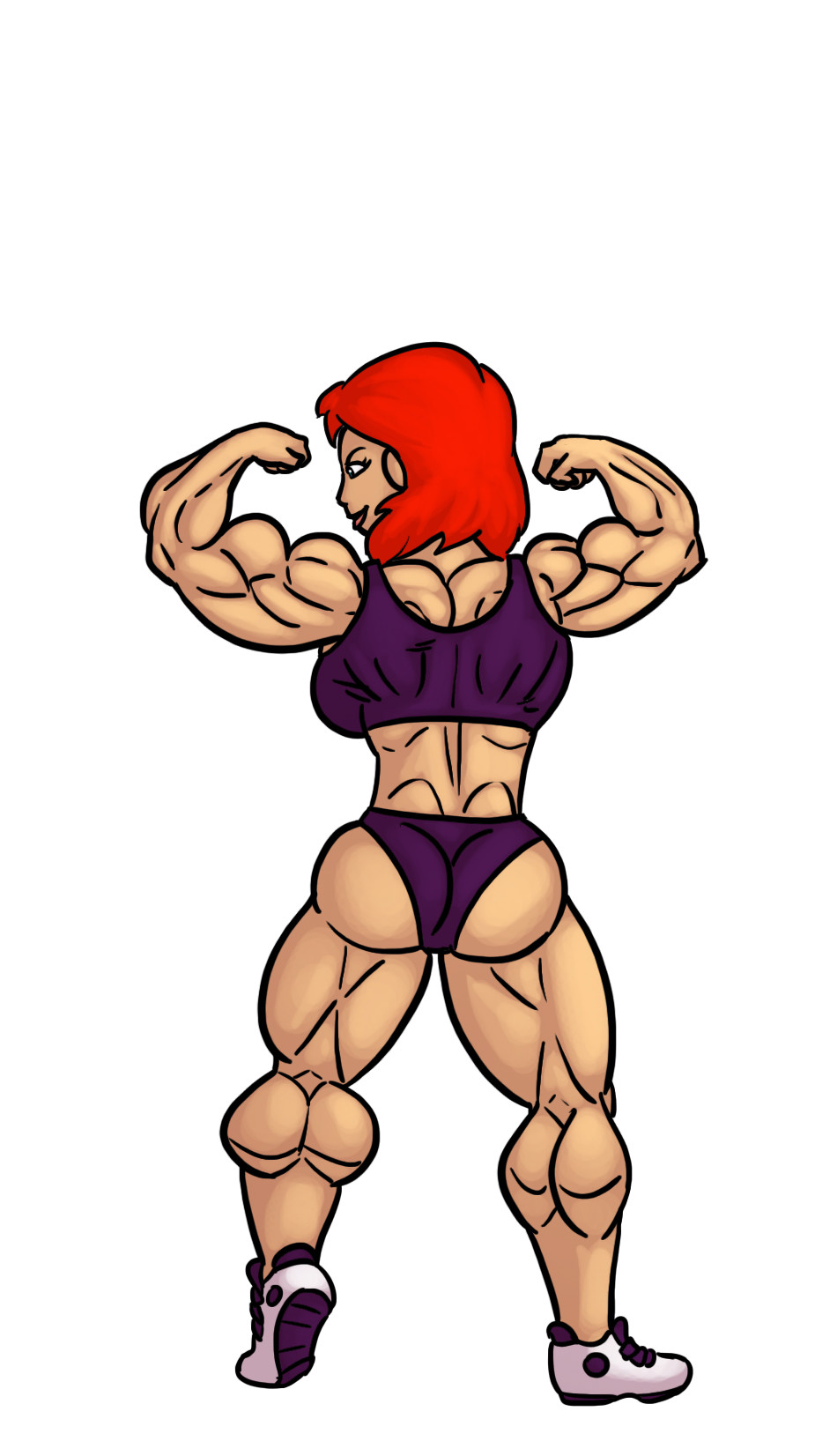 Muscle growth redhead — 12