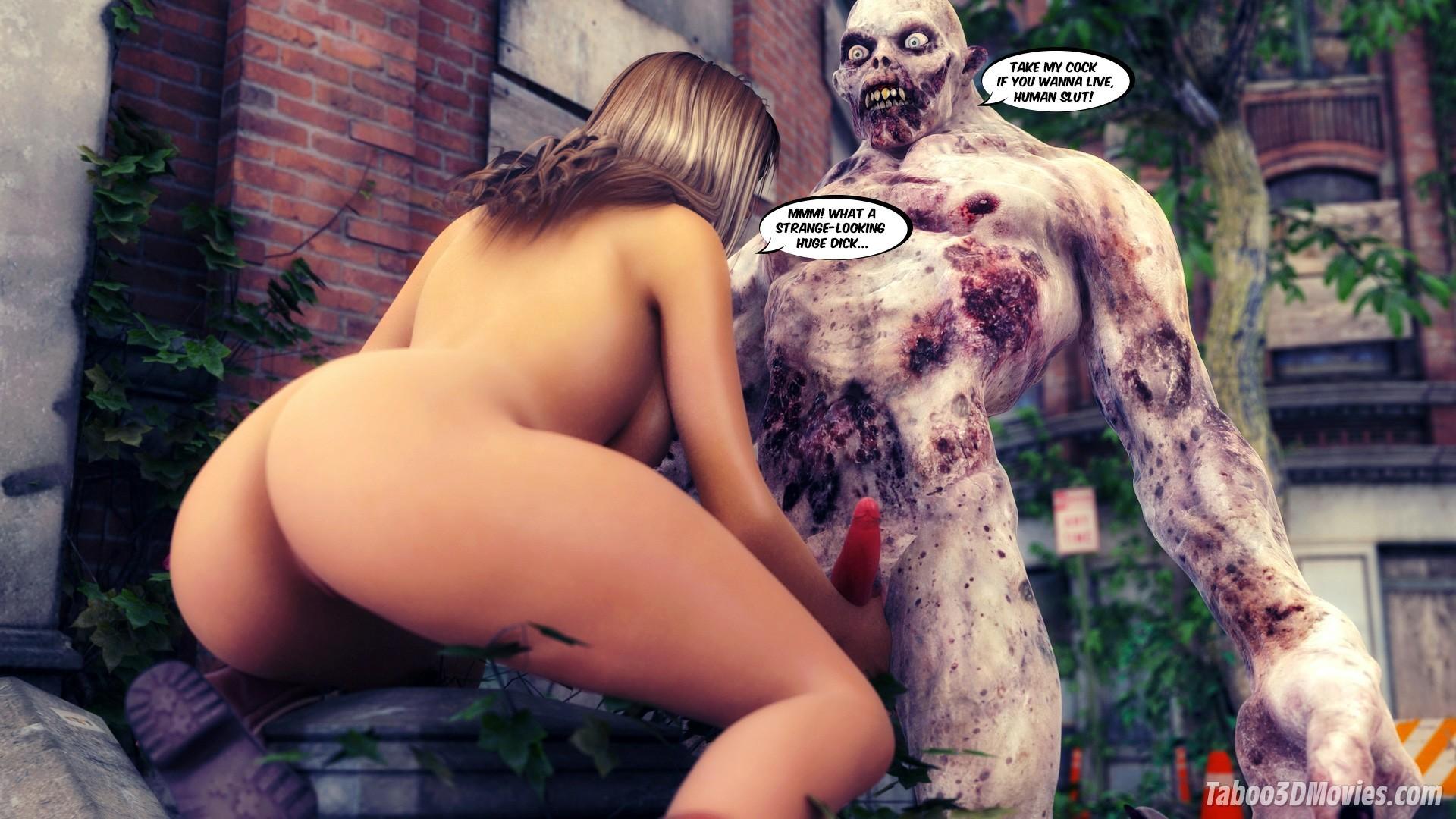 3d zombie porn