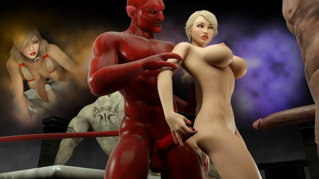 особняке секс с демонами смотреть порно ролики уходил меня поздно