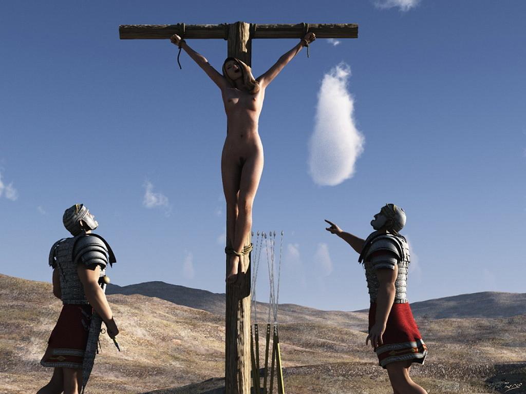 Crucified women
