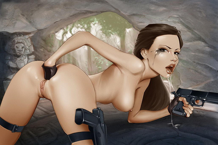 Sam and laura tomb raider lesbian hentai photos