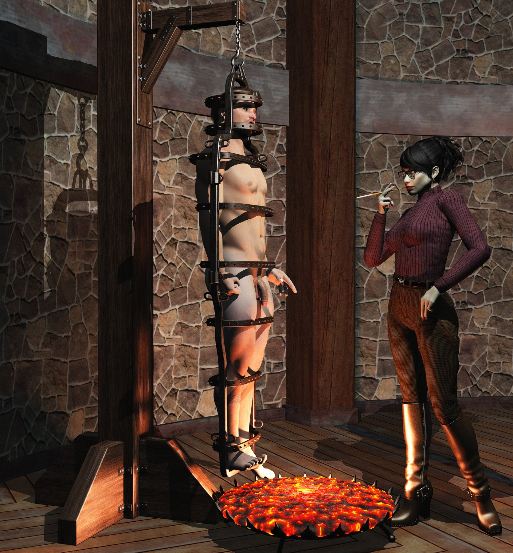 Executions in bdsm art