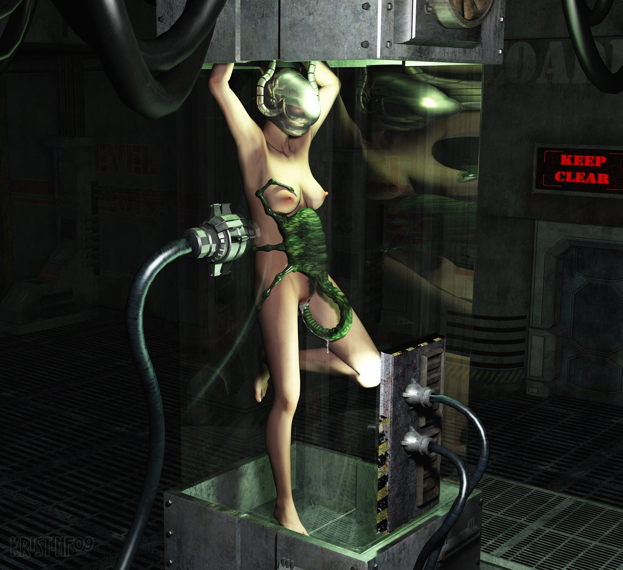 Nude Alien Slave