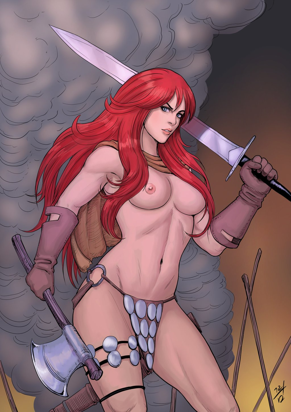 Sword and sorcery porn