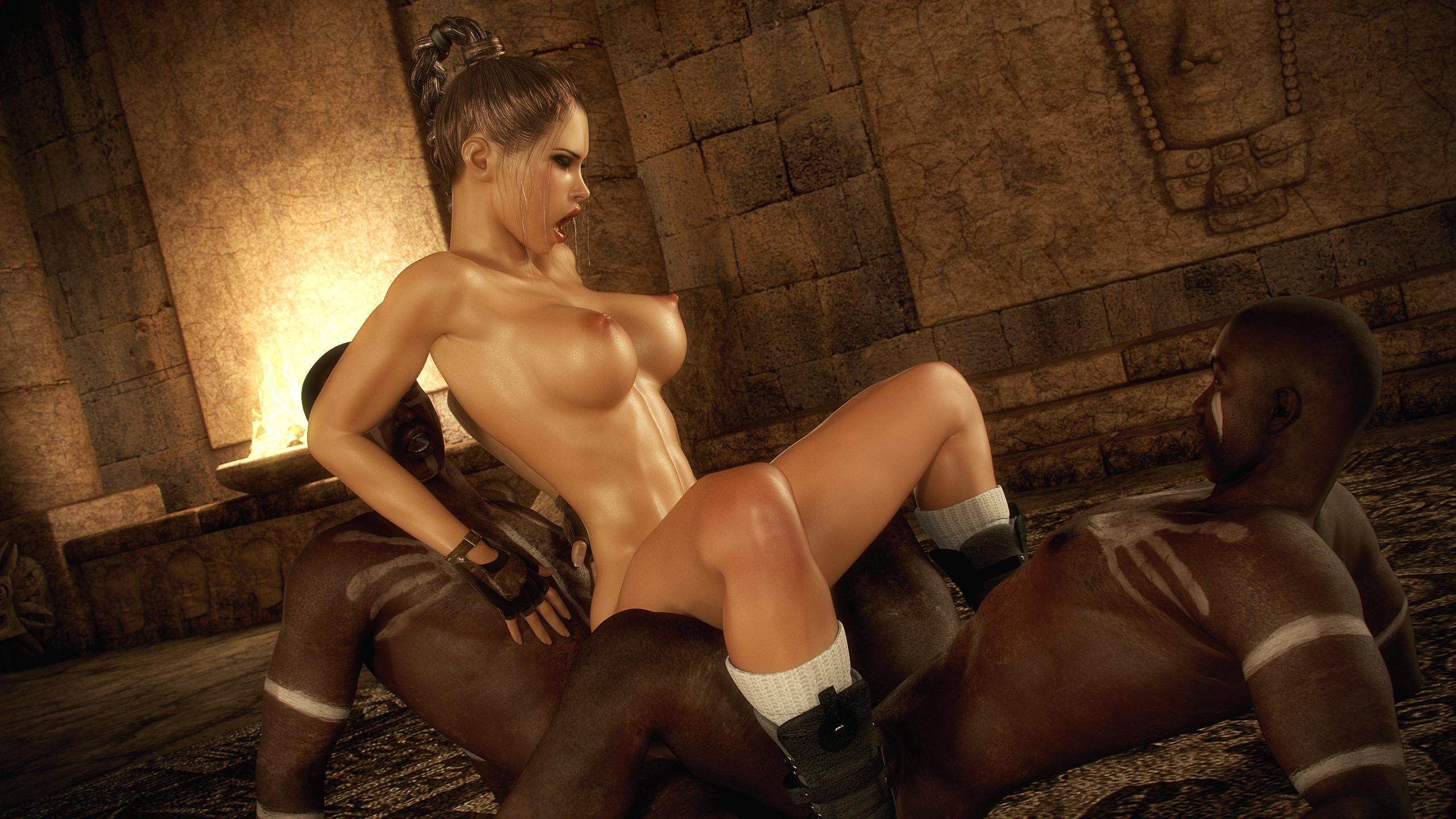 Nude Lara Croft Cosplay