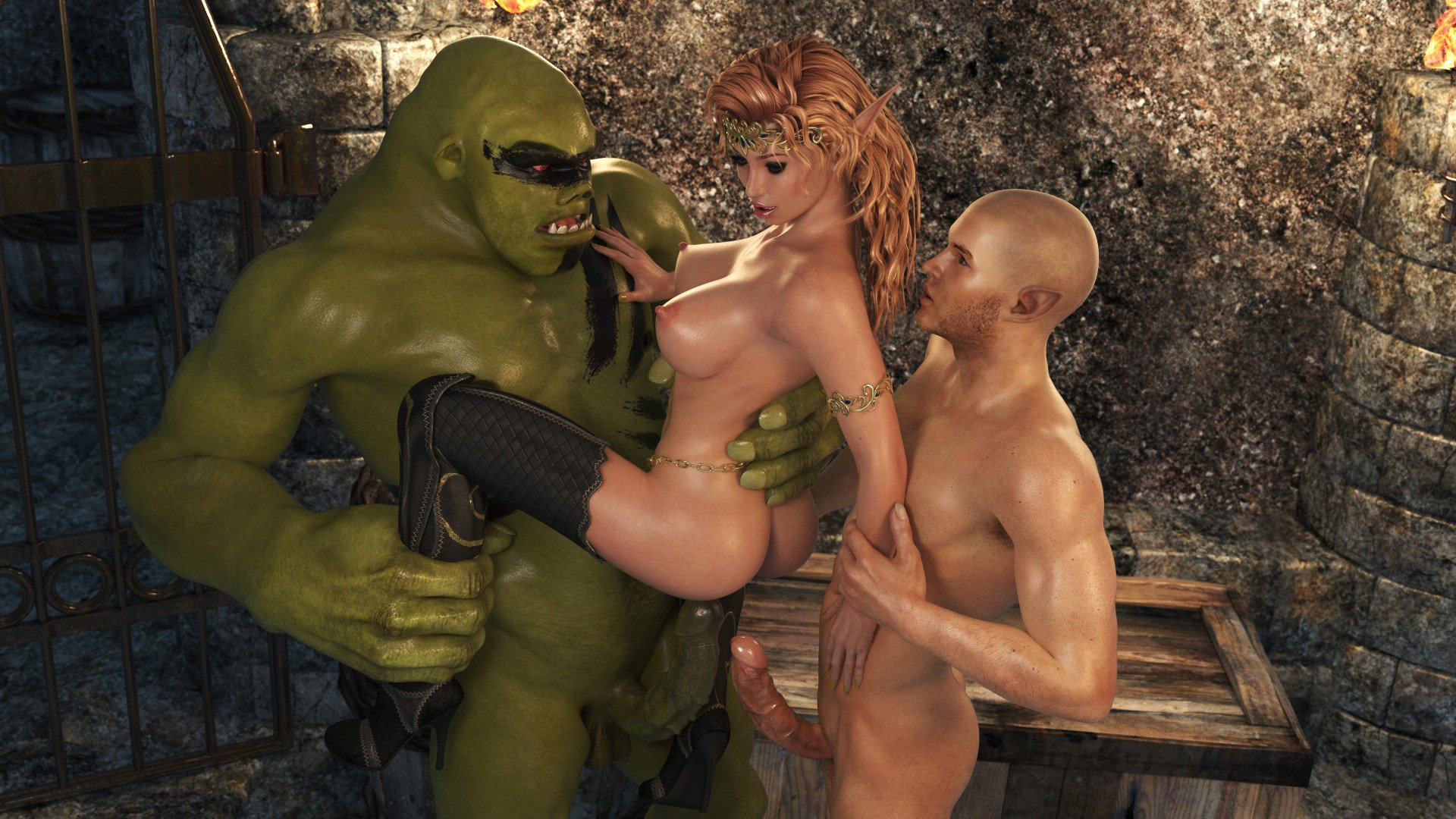 Monster kissing sex pics 12