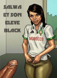 SALWA ET SON ÉLEVE BLACK