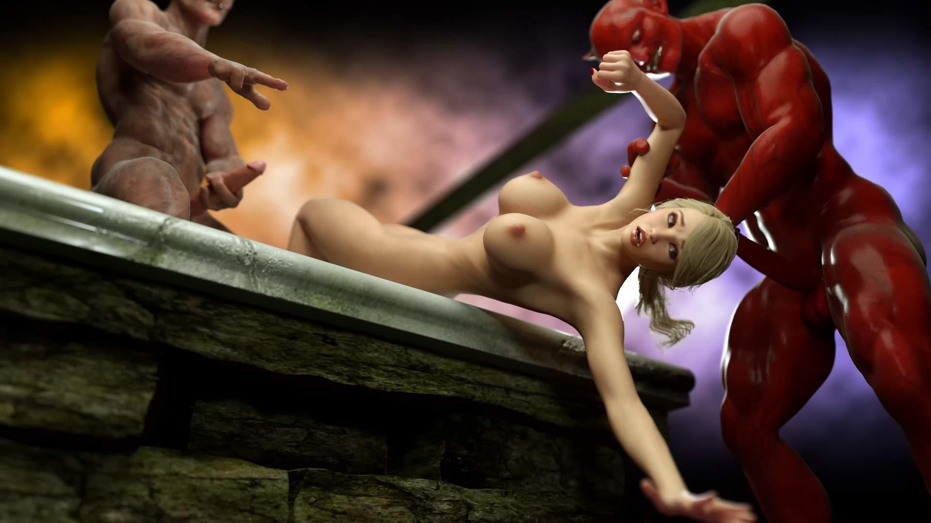 Онлайн порно игры с демонами